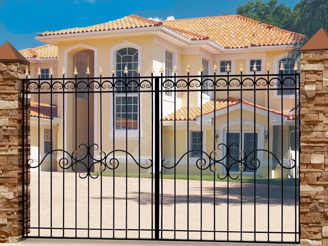 цены на кованые ворота для дачи в спб